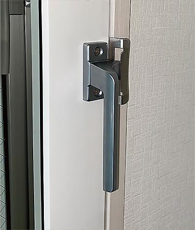 内窓プラストのオプション:クレセント