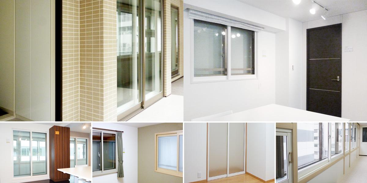 内窓プラストのショールーム